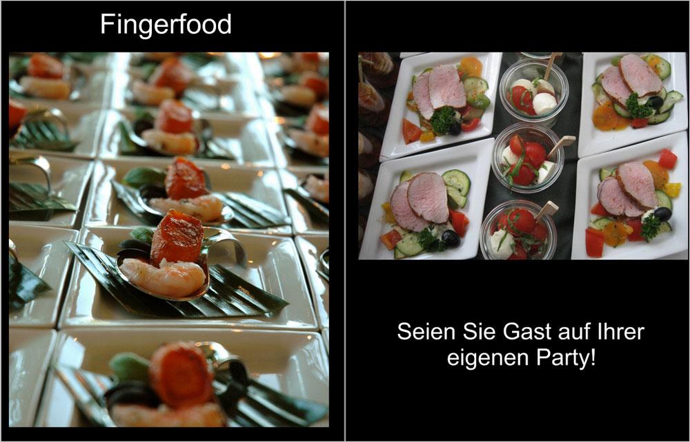 Krautter Eventcatering - Buffetvorschläge Fingerfood