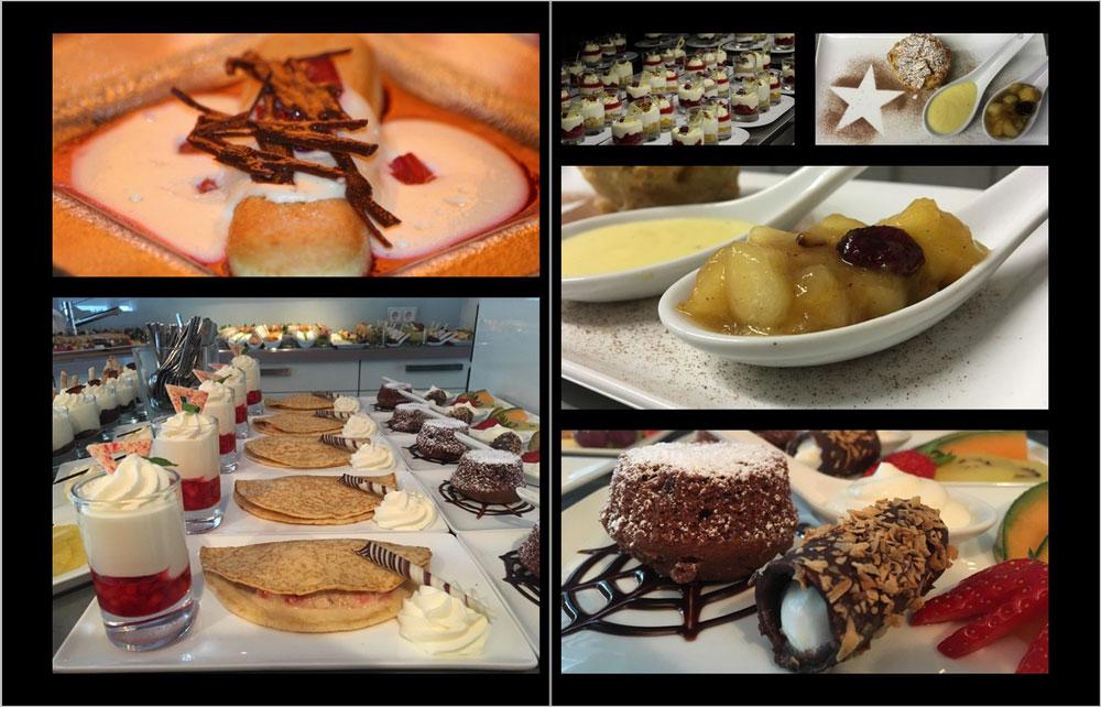 Krautter Eventcatering - Buffetvorschläge Dessert